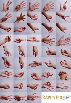 Hand Images for Drawing Reference 1