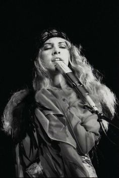 Stevie Nicks - I grew up listening to her raspy angelic voice, love love love her!