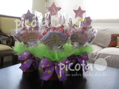 Centro de Mesa Rapunzel  ventas@picota.com.mx