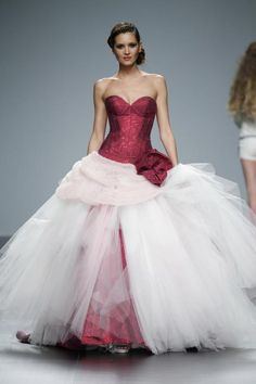 Vestido de novia de Jordi Dalmau en Barcelona Bridal Week.