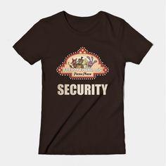 ======= Shirt for Sale ======= Freddy Fazbear Pizza Logo Security Shirt  Five Nights at Freddy's tshirt by Kaiserin. =========================   #FNAF