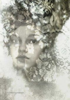 """Fotocollage """" Lace"""" Collage, Book Design, Photo Art, Statue, Artwork, Inspiration, Beauty, Pictures, Biblical Inspiration"""