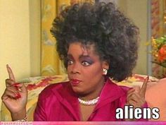 Yes, Oprah really did wear her hair like that. Go 1980s!