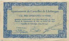 50 cèntims (Castellet de Llobregat, 1937)