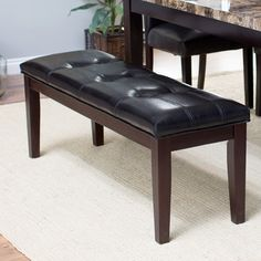 Have to have it. Palazzo Backless Bench - Brown - $89.98 @hayneedle