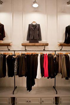 Noir et Blanc Flagship Retail Store Flatiron new York NY Meshberg Group Brooklyn