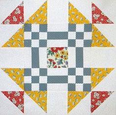 Free Quilt Pattern - Scrap Bag Block by Bambi Hartman