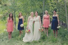 Bridal Party | Romantic Same Sex Wedding | Two Bird Studio | Bridal Musings Wedding Blog 28