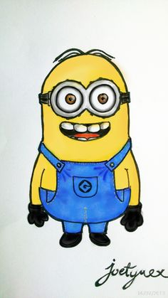 this is one of my art work :P #minion