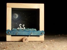ghost swans automata by cartoonmonster on Etsy