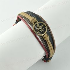 Hunger Games Layered Wristband - Buy 4 get 1 FREE! - Paykoc Imports, Inc.