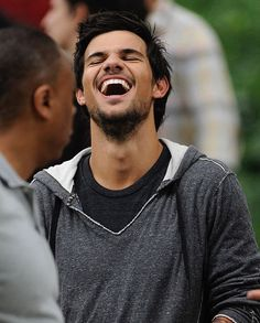 Laugh it off, honey. First Love, My Love, Taylor Lautner, Be A Nice Human, Number One, Candid, My Hero, Celebs, Couple Photos