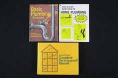 Nikota plumbing trap with cleanout brush nip item no 07355 lot of 3 do it yourself books plumbing readers digest step by step home basic solutioingenieria Gallery