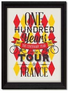 Tour de France Centenary by Neil Stevens