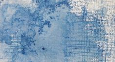 jane minter's sketchbook: textures - watercolour + hessian