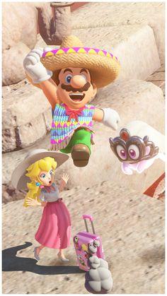 Peach, Tiara,and Mario Super Mario Bros, Super Mario 1985, Super Nintendo, Super Smash Bros, Mario Kart, Mario And Luigi, Peach Mario, Mario And Princess Peach, Metroid