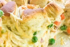 Loaded Bubble-Up Chicken Pot Pie   Chef Alli Homemade Chicken Pot Pie, Cream Of Chicken Soup, Best Bacon Jam Recipe, Ranch Dressing, Shredded Chicken, Bubble, Cooking, Ethnic Recipes, Food