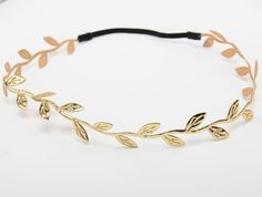 Mommy and Me Gold leaf Headband