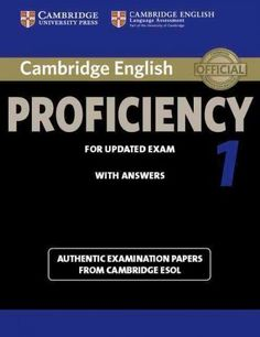 Cambridge English Proficiency 1 - For Updated Exam - Student's Book with Answers