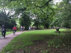 Ours #students cycling around #kilkenny #ireland