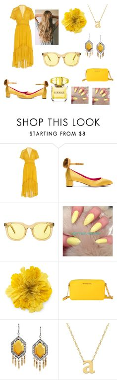 """Sunny Day"" by arianna-mitchell-1 on Polyvore featuring Ulla Johnson, Oscar Tiye, Han Kjøbenhavn, Gucci, MICHAEL Michael Kors, Jane Basch and Versace"