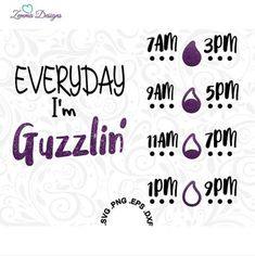 Items similar to water bottle svg - water tracker svg - water intake svg - water svg - vinyl svg files - svg files - bottle svg - .PNG on Etsy Cricut Air, Cricut Vinyl, Cricut Monogram, Vinyl Crafts, Vinyl Projects, Diy Tumblers, Vinyl Quotes, Water Bottle Design, Painted Wine Glasses