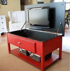 Clever Ways to Disguise a TV | landeelu.com