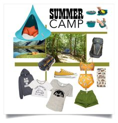 """""""Camp is god"""" by daniela-candita on Polyvore featuring moda, Brooks, Pendleton, Hang-In-Out, Billabong, ESPRIT, Converse, summercamp e 60secondstyle"""