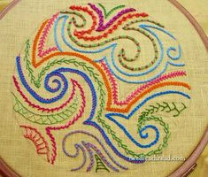 Tones of embroidery patterns and pattern sources!