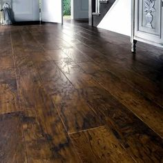Flooring On Pinterest Vinyl Planks Stained Concrete And