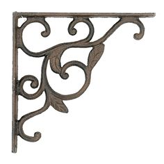 Leaf Shelf Bracket