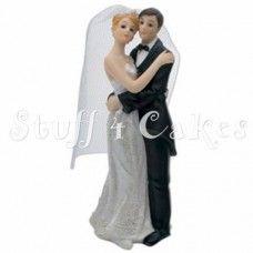 Bride & Groom Cake Topper Design 4