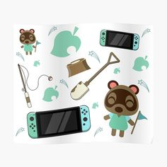 Wall Prints, Animal Crossing, Nintendo Switch, Printed, Awesome, Frame, Poster, Animals, Products