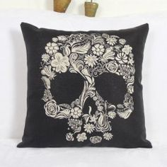 SHARE & Get it FREE   Colorful Skull Household Linen Pillow CoverFor Fashion Lovers only:80,000+ Items • FREE SHIPPING Join Nastydress: Get YOUR $50 NOW!