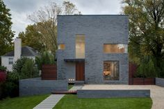 One of my favorite houses. Now AIA Home Award Winner    Hampden Lane House / Robert Gurney Architect