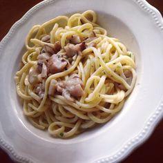 """""""Oggi per pranzo un gustoso piatto di tagliolini ai funghi porcini di Borgotaro IGP. Il lato positivo della pioggia d'estate!"""" - Instagram by elisadelgrosso"""