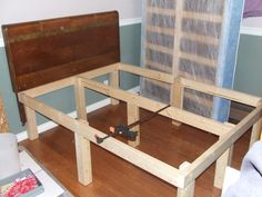 Best Cheap Easy Low Waste Platform Bed Plans Large Storage 400 x 300