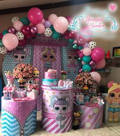Popular ideas for surprise party for him diy 7th Birthday Party Ideas, Birthday Parties, Surprise Birthday, 5th Birthday, Diy Party Decorations, Birthday Decorations, Kids Pamper Party, Doll Party, Lol Dolls