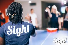 """Did it go in?""    #SightTheBrand x #Tshirt x #Fashion x #Blue"