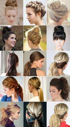 Usar o cabelo preso é prático e está super na moda. Inspire-se nos modelos e e aposte no cabelo preso em qualquer estação.