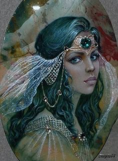 everyday a different color, beautiful gifs, soft goth, nature. images that I like and attract my attention. I hope you'll find images here for your taste too. Russian Folk Art, Fairy Art, Woman Painting, Stone Painting, Belle Photo, Oeuvre D'art, Female Art, Art Pictures, Photo Art