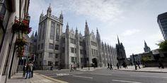 Marischal College in the city centre of Aberdeen