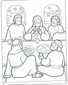 Jesus com Discípulos na Santa Ceia