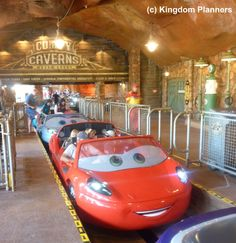 Radiator Springs Racers - Cars Land -Disney's California Adventure, Disneyland Resort - Lightning McQueen