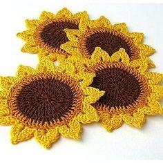 Watch The Video Splendid Crochet a Puff Flower Ideas. Wonderful Crochet a Puff Flower Ideas. Crochet Coaster Pattern, Crochet Flower Patterns, Doily Patterns, Crochet Motif, Crochet Doilies, Crochet Flowers, Crochet Stitches, Knit Crochet, Knitting Patterns