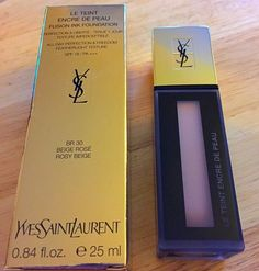 Game face: looking human on three hours sleep - Yves Saint Laurent Fusion Ink Foundation