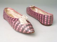 Shoes, 1800-1810, Manchester City Galleries