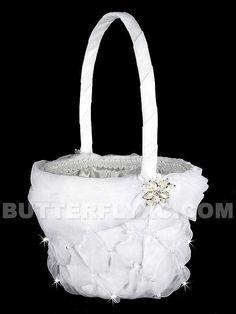 basket for flower girl?