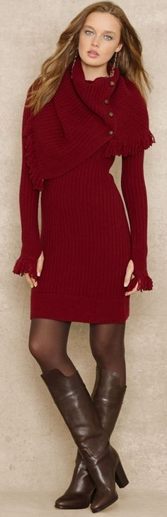 Ralph Lauren- Amazing outfit-perfect for the upcoming cooler months www.adealwithGodbook.com