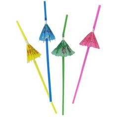 Umbrella Straws $1.50/12